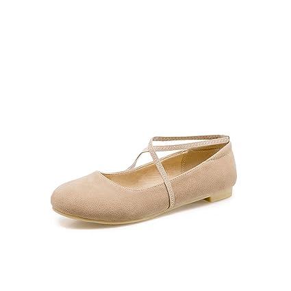45f6fb8f5f80a Amazon.com: GAOLIM Spring Women Shoes, Cross With Round Head Light ...
