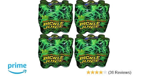 24 Pack 8oz. Pickle Juice Sport