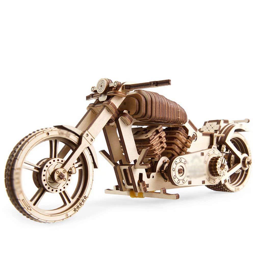 entrega rápida 25.88.410.5cm Modelo Modelo Modelo de transmisión mecánica de Madera DIY Adulto ensamblado Juguete Rompecabezas Regalo Ciencia Juguete Rompecabezas Tridimensional  colores increíbles