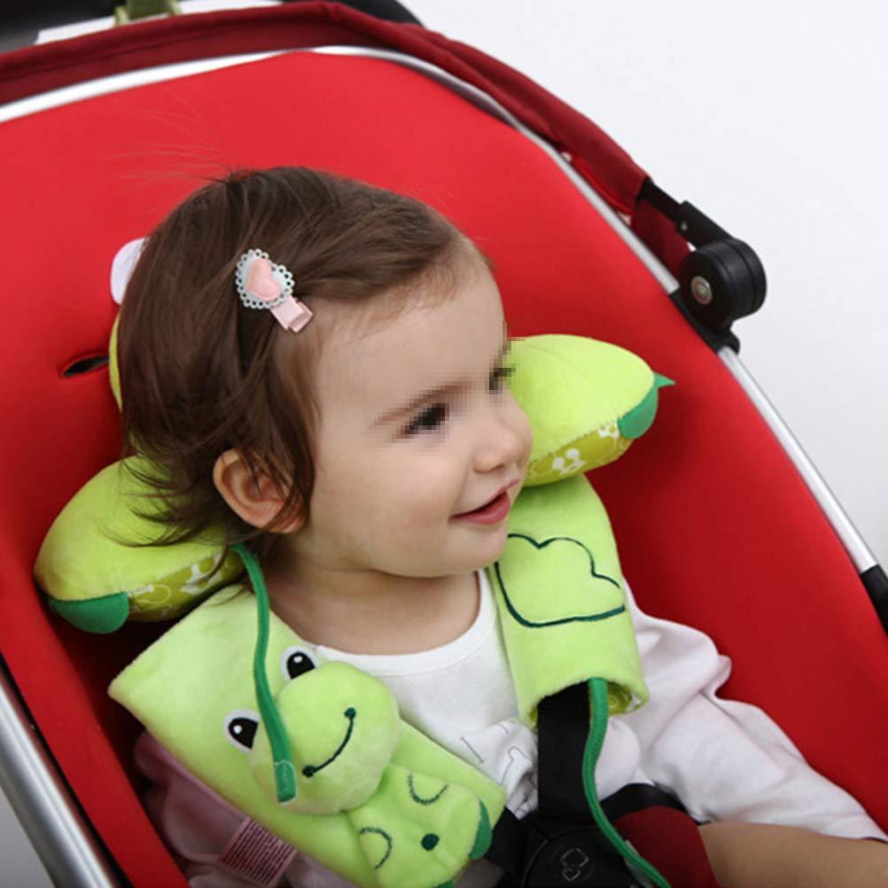 Toyvian Cintur/ón de Seguridad del beb/é del Cochecito de Seguridad de la Manga del Asiento de Carro del beb/é cintur/ón de Seguridad