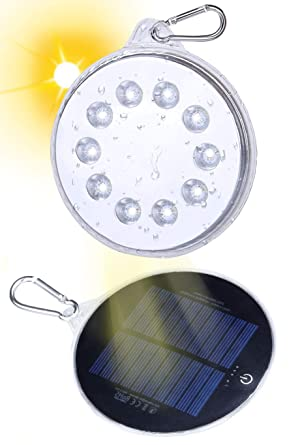 Inflatable Solar Light Festival Camping Portable LED Lantern With Remote Control