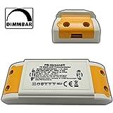 PB-Versand Mini transformateur LED 1–70W 12V ~ AC, transformateur haute puissance pour spots G4, GU5.3, MR16, MR11et autres Trafo