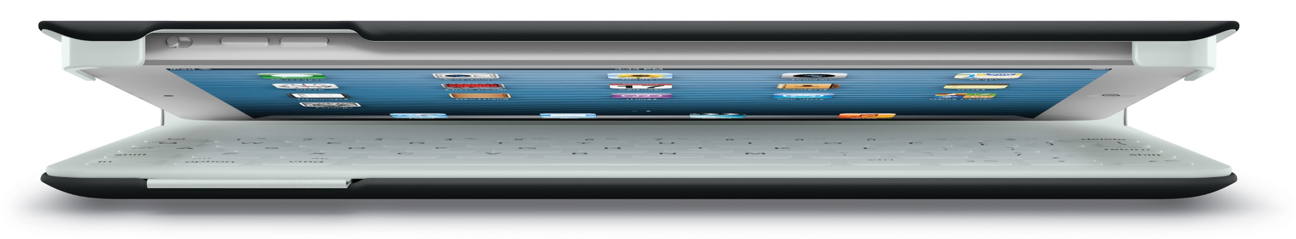 Logitech Fabric Skin Keyboard Folio for iPad Air, Carbon Black