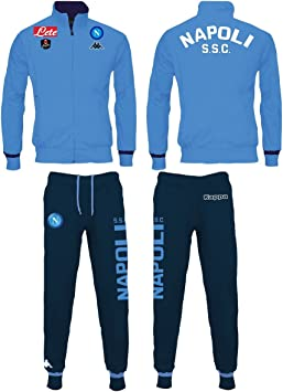 Kappa SSC Napoli Serie A - Chándal, Color Azul, para Adulto, Talla ...