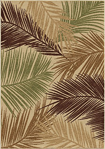 Orian Rugs Four Seasons Indoor/Outdoor Bungalow Palms Area Rug, 5'2