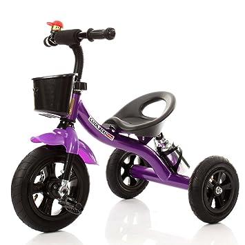 Bicicletas HAIZHEN Cochecito Triciclo para Niños Marco De Acero Rueda De Espuma 2-4 Años