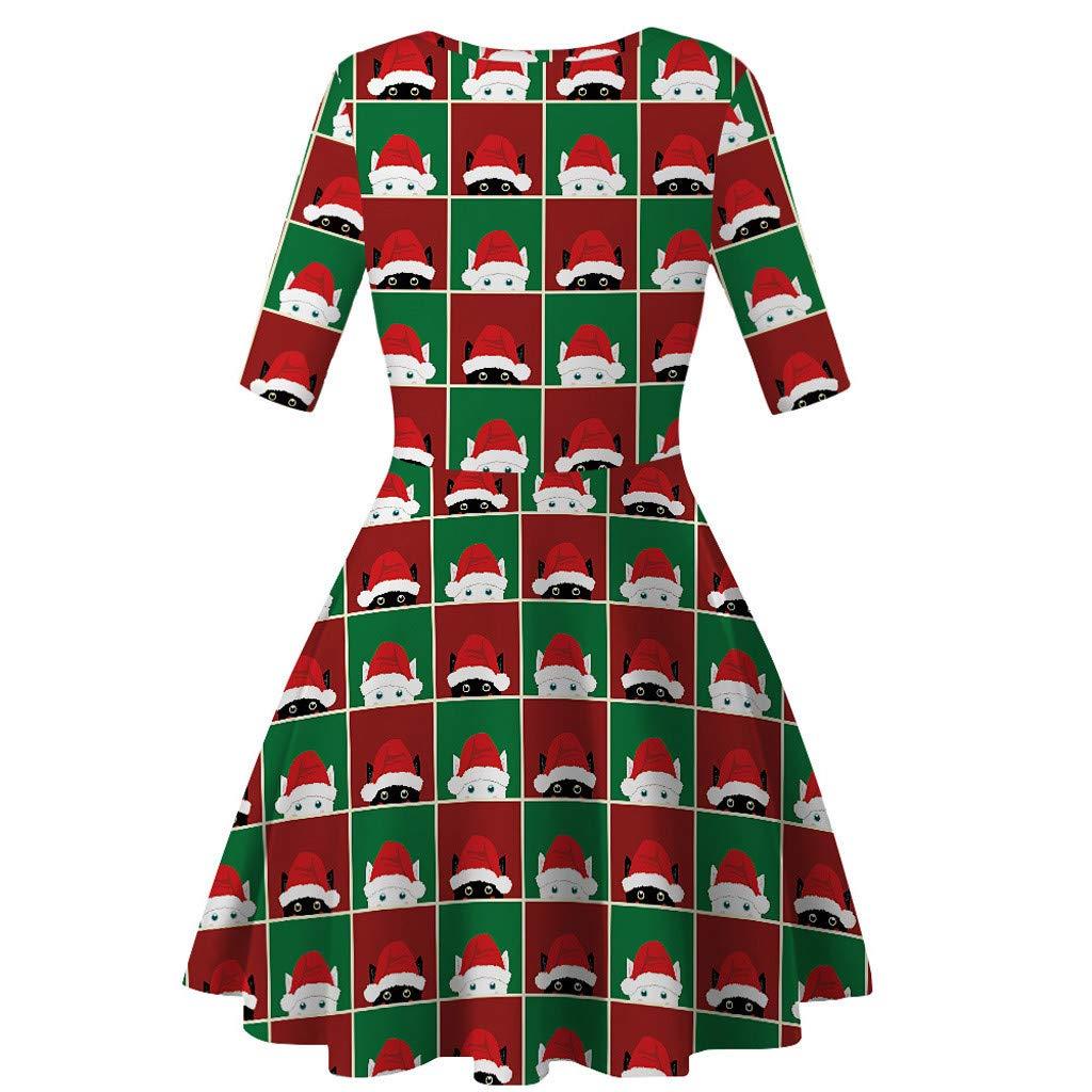 K-Youth Disfraz Navidad Vestido para Madre e Hija Vestido Princesa Ni/ña 7 a 12 A/ños Ropa Bebe Ni/ña Bautizo Vestido de Fiesta Ni/ña Vestidos Mujer Invierno Vestido Ni/ñas Chica