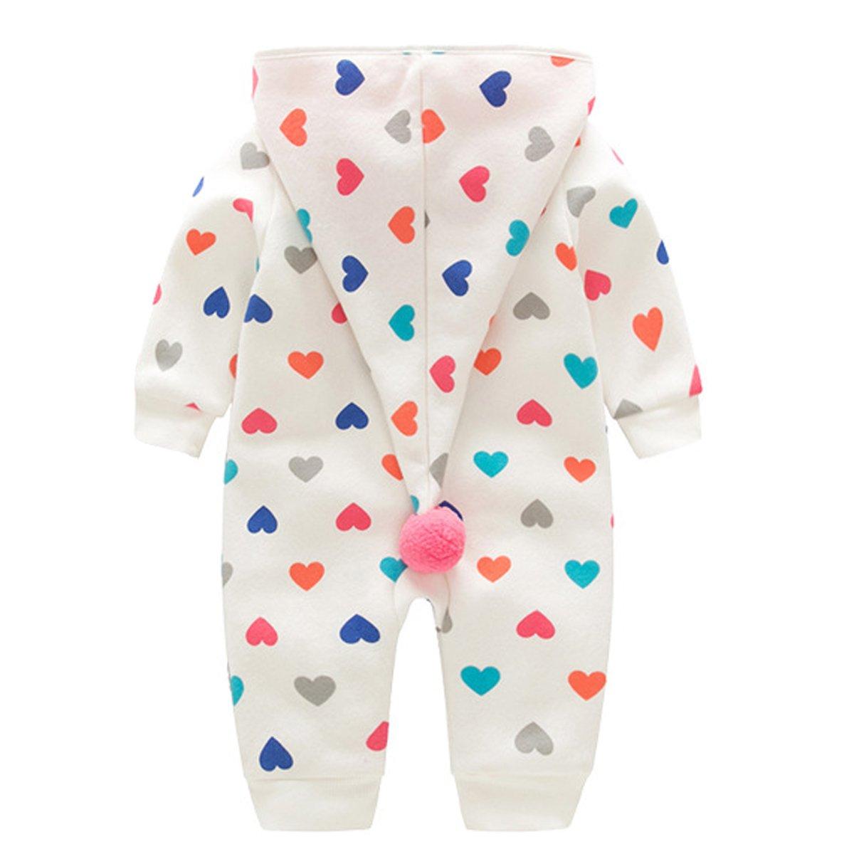 Bebone Baby Strampler Jungen M/ädchen Overall Babykleidung