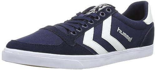 hummel HUMMEL SLIMMER STADIL LOW - Zapatos de caña baja de lona unisex: Amazon.es: Zapatos y complementos