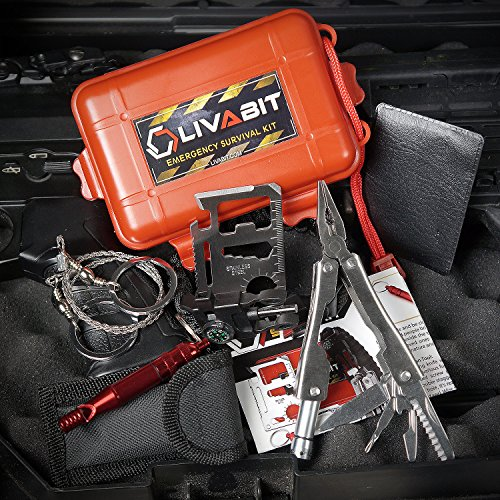 Firefighting Gear Extractor ~ Livabit dual pack first aid safety tool emergency kit