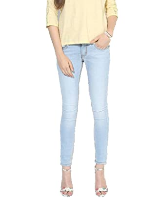 bef87b7a615 fourgee Women s Light Blue Slim Fit Jeans (Fourgee4 Blue 26)