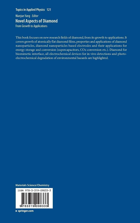 Buy Novel Aspects of Diamond (Topics in Applied Physics
