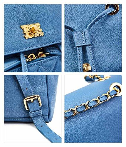 HOUSE Sac porté à femme au bleu clair pour dos EMINI main wq5TwC