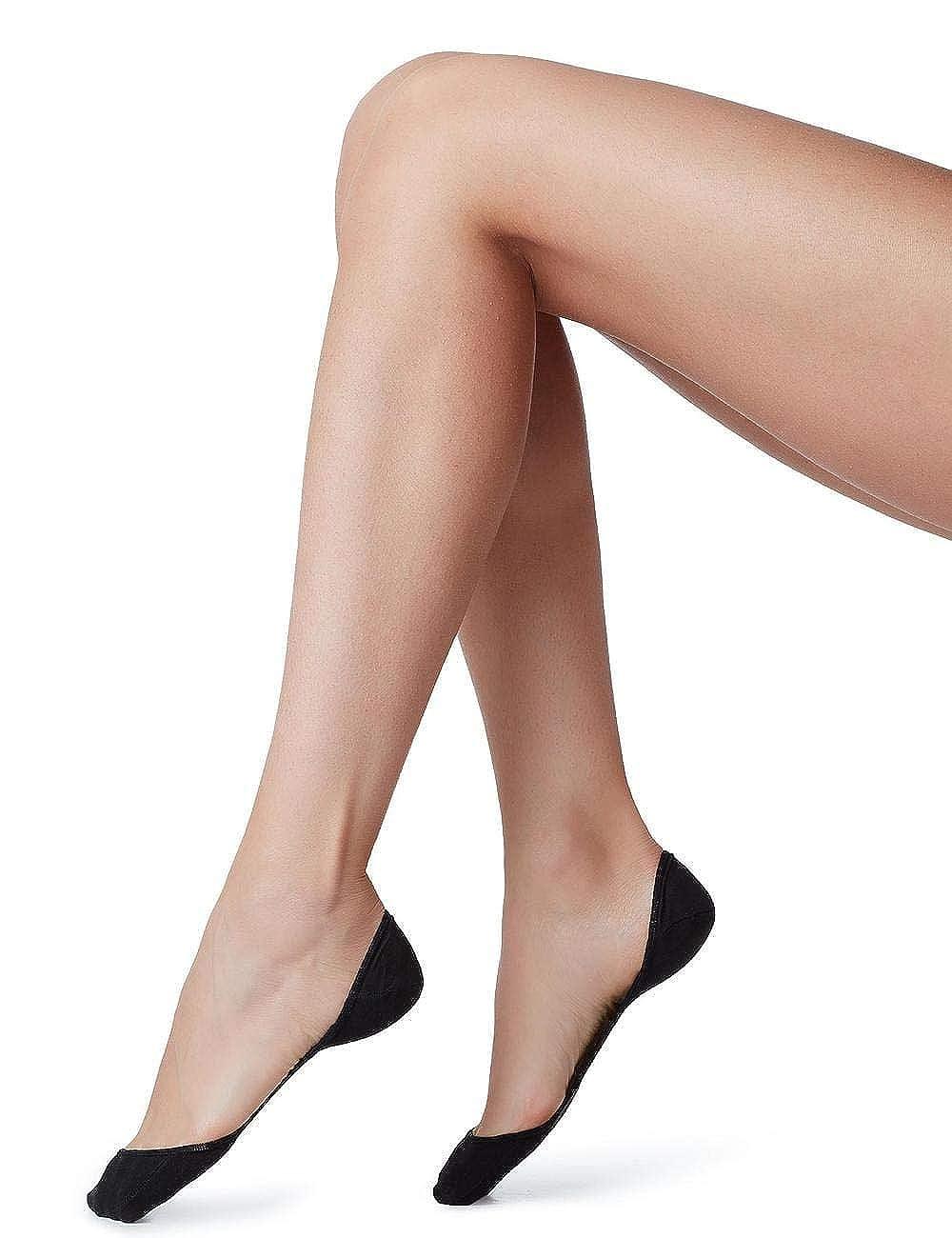 Calzedonia - Calcetines cortos - para mujer negro Schwarz - 019: Amazon.es: Ropa y accesorios