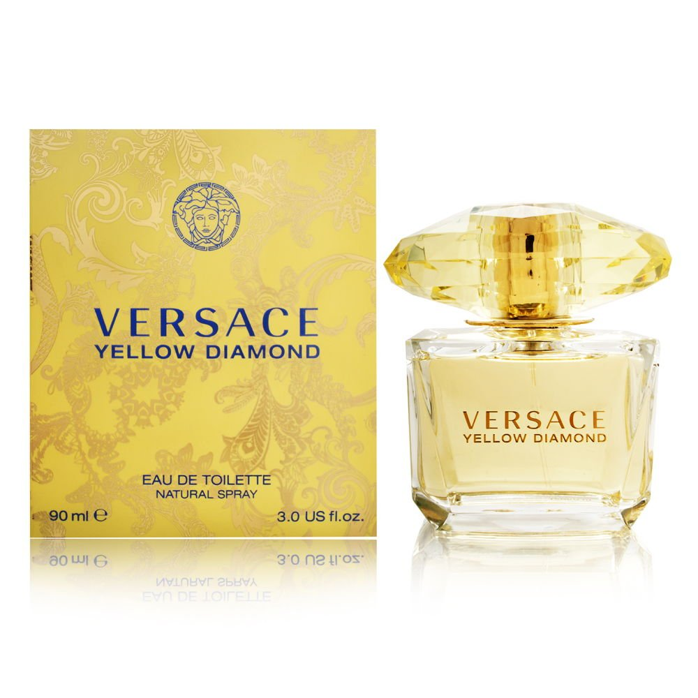 Versace Diamond Eau De Toilette Spray, Yellow, 3 Fl Oz by Versace