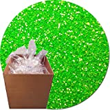Glitter My World! Craft Glitter: 25lb Box: Jacinto Lime