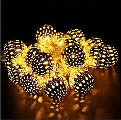 Twinkle Led Christmas,Y&M(TM)Wholesale String Warm White & Colored Twinkle Led Flashing Christmas Decorations Lights (Warm White LED)
