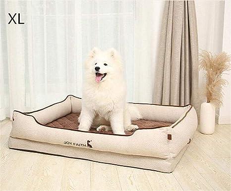 FVCDWSA Cama para Mascotas, Suministros para colchones para Perros, Cuatro Estaciones, Tiempo de