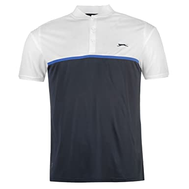 Slazenger Hombre Baseline Polo Camisa Camiseta Top Ropa Vestir ...