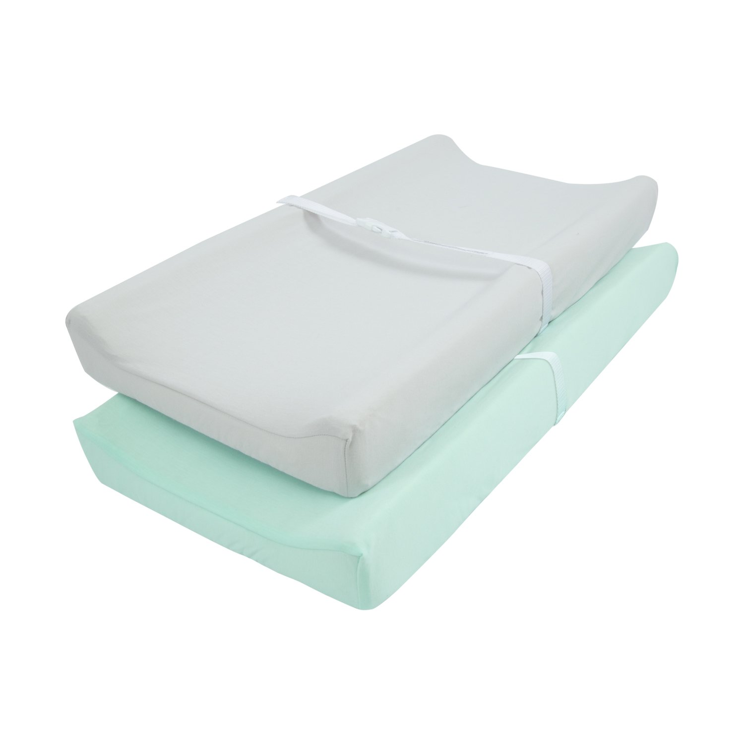 TILLYOU Jersey Knit Ultra Soft Changing Pad Cover Set-Cradle Sheet Unisex Change Table Sheets