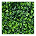 e-joy 12 Piece Artificial Topiary Hedge Plant Privacy Fence Screen Greenery Panels Suitable for Both Outdoor or Indoor
