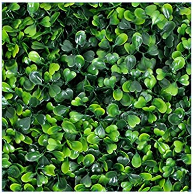 Amazon Com Ejoy E Joy 12 Piece Artificial Topiary Hedge Plant Privacy Fence Screen Greenery Panels Suitable For Both Outdoor Or Indoor Garden Or Backyard And Home Decorations Boxwood 20 L X 20 H