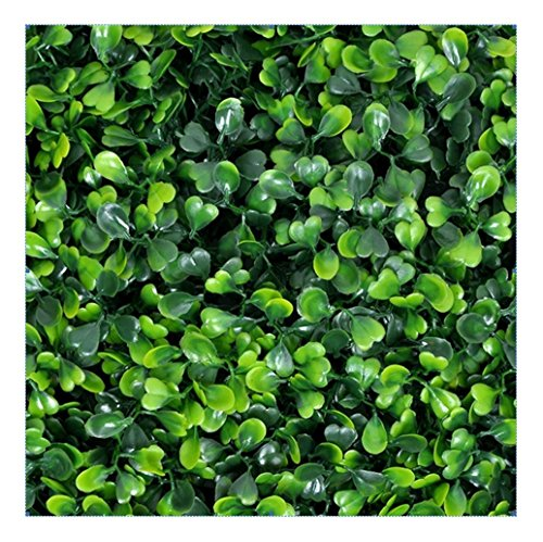 e-Joy 12 Piece Artificial Topiary Hedge Plant Privacy Fence Screen Greenery Panels Suitable for Both Outdoor or Indoor, Garden or Backyard and Home Decorations, Boxwood 20'' L x 20'' H