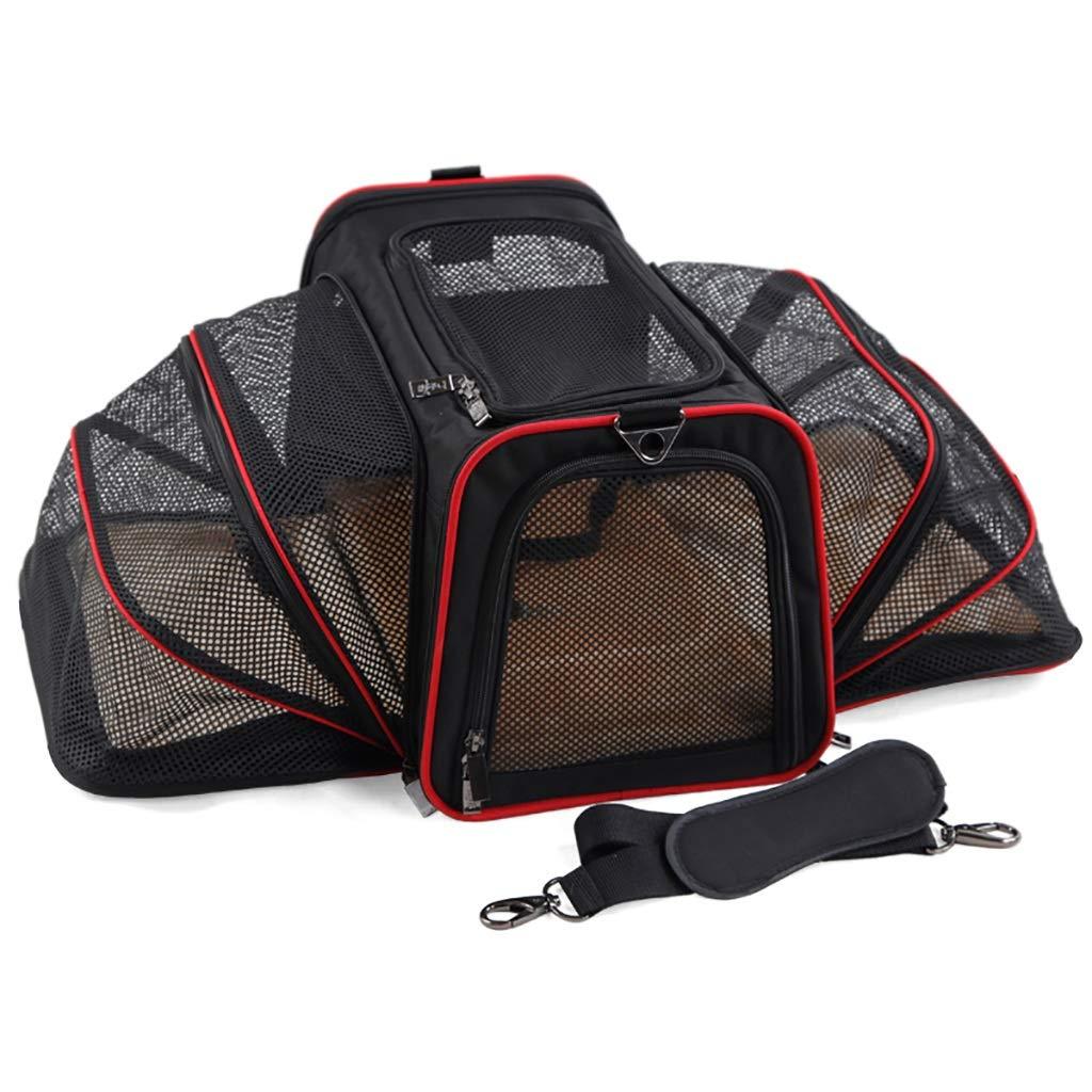 A 452828CM A 452828CM Pet Bag Outgoing Portable Dog Bag Outgoing Package Dog House Cat nest Pet car Package Pet Supplies Oxford Cloth (color   A, Size   45  28  28CM)