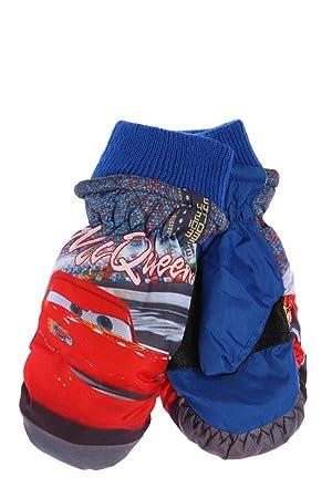 Gants-Moufles De Ski -Enfant Garçon Cars Disney bleu 4 6ANS  Amazon ... f2abf01c981