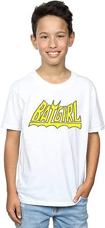 DC Comics Niños Batgirl Logo Camiseta