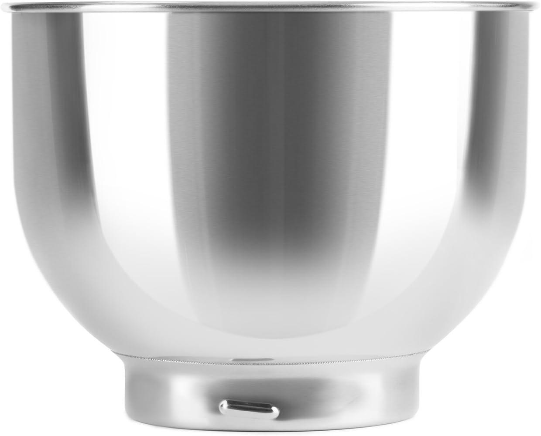Klarstein Bella/Lucia bol de acero inoxidable repuesto accesorio para robot de cocina o batidora amasadora: Amazon.es: Hogar