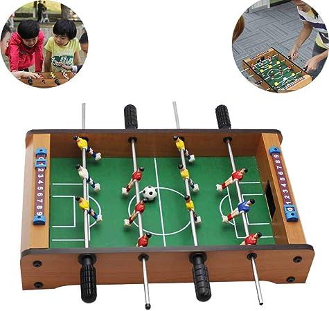 CHENGL Mesa de fútbol Mesa de fútbol de Mesa Grande para niños ...
