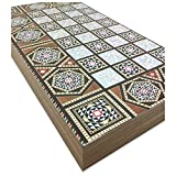 The 19'' Silver Star Backgammon Turkish Premium Board Game Set