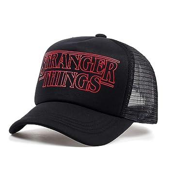 SOLYSS Gorra de Beisbol Cosas extrañas Gorras Sombrero Cool Black ...