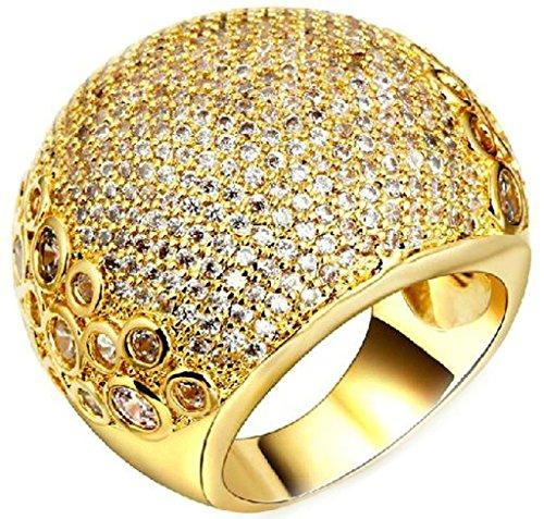 Bague-PersonnalisAdisaer-Bague-Femme-Plaque-Or-Bague-de-Fiancaille-Gravure-Ronde-Forme-Bague-Diamant