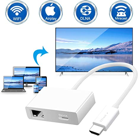 HDMI Wireless WiFi Display TV Dongle Receiver 1080P HD Airplay Miracast DLNA AU