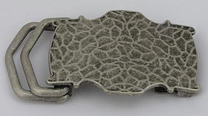 1 fermoir boucle de ceinture boucle de serrage 3,9 cm Argent Vieilli  inoxydable. be37a7fe496