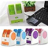 VOLTAC Mini Fragrance Air Conditioner Cooling Fan (Multi-Color) Model 400342