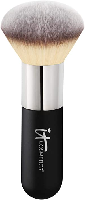 IT Cosmetics Heavenly Luxe Airbrush Powder & Bronzer Brush #1 - For a Smooth, Even, Airbrushed Finish - Jumbo Handle for Easy Application - Soft, Pro-Hygienic Bristles