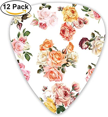 Vector Grandes Rosas Realistas Con Hojas Amor Romántico Jardín de ...
