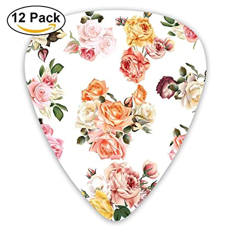 Vector Big Realistic Roses With Leaves Romantic Love Spring Time ...