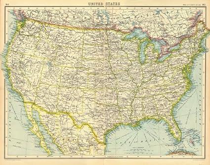 Amazon.com: USA. United States general map. BARTHOLOMEW - 1924 - old on old maps of greenland, old maps of nepal, old maps of the bahamas, old maps of the netherlands, old maps of slovakia, old maps of the midwest, old maps of the southwest, old maps of bolivia, old maps of albania, old us map, antique map united states, old maps of the american revolution, old maps of latin america, vintage wall map united states, old maps of the east coast, old maps of azerbaijan, old maps of guam, old maps of the americas, native american tribes map united states, old united states of america,