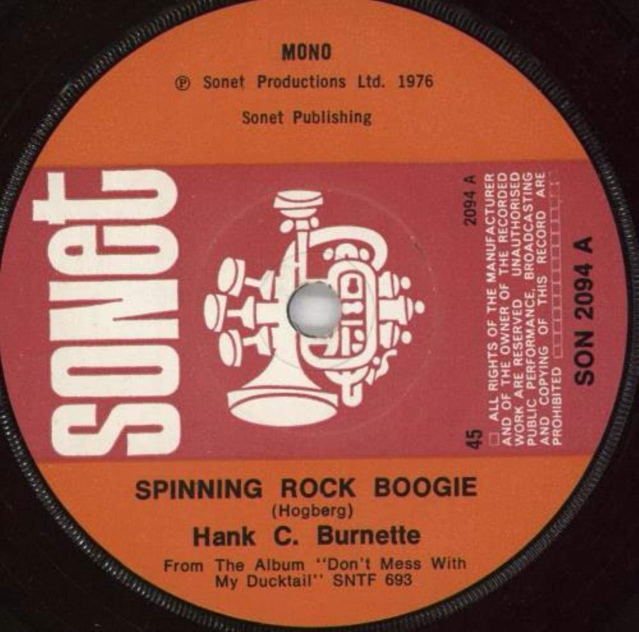 Spinning Rock Boogie - Hank C. Burnette 7