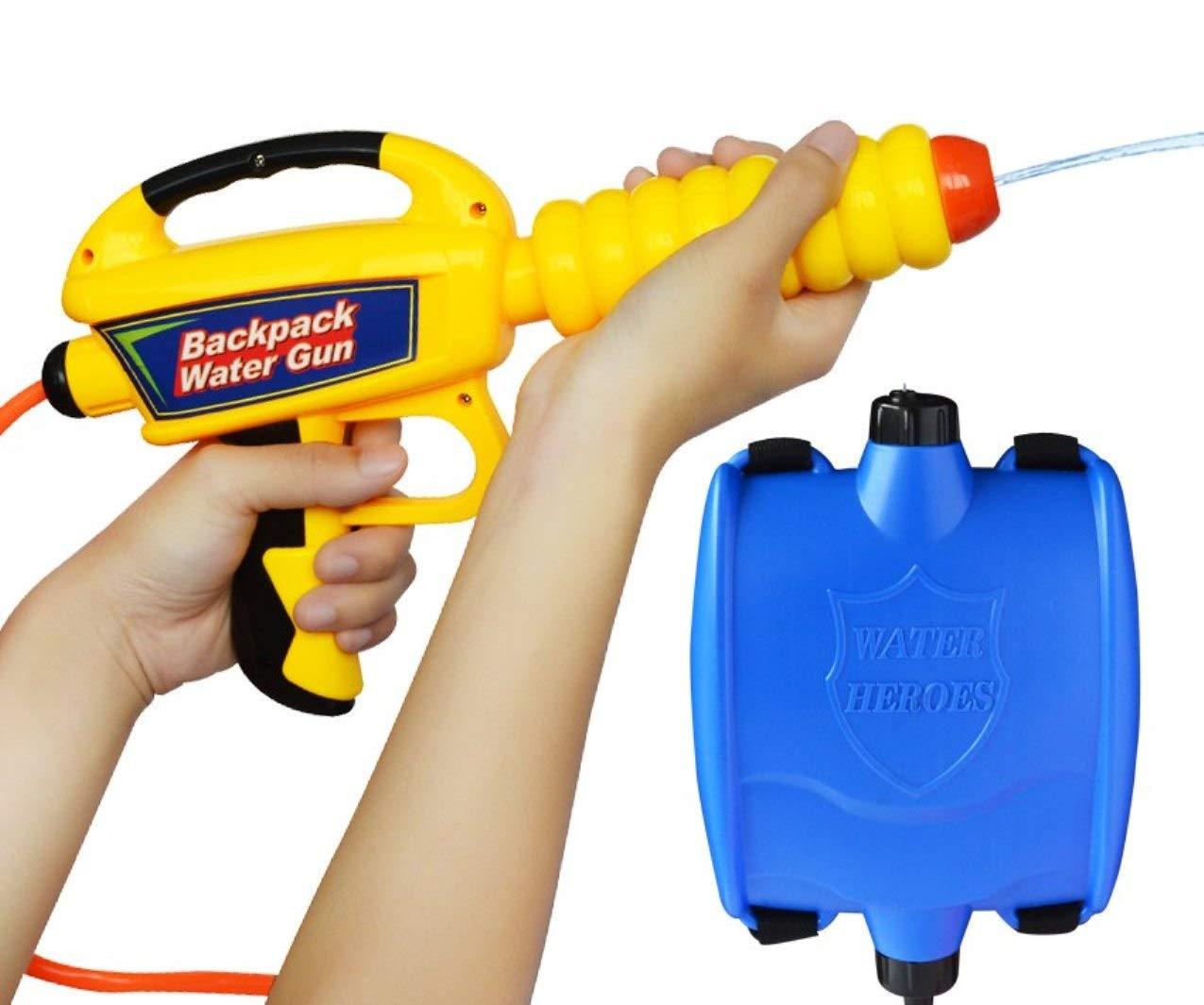 5billion Children Summer Beach Gaming Water Gun Kids Outdoor Super Soaker Blaster Backpack Pressure Squirt Pool Toy Birthday Gifts