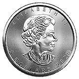 CA 2021 Lot of (5) 1 oz Silver Canadian Maple Leaf