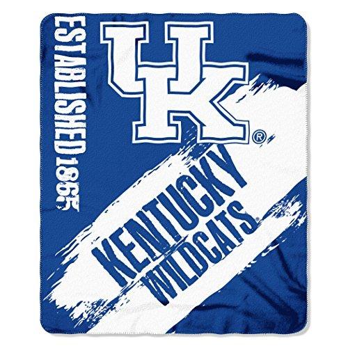 Northwest NCAA Kentucky Wildcats Painted Printed Fleece 50