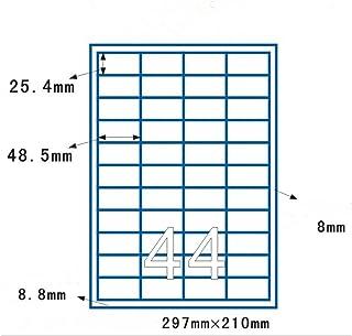 LP6//76 R. 50 Fogli 300 Etichette Label Planet/® Etichette di Carta Bianca A4 Rotonde per Stampanti a Getto dInchiostro e Laser 76mm Diametro 6 Par Foglio