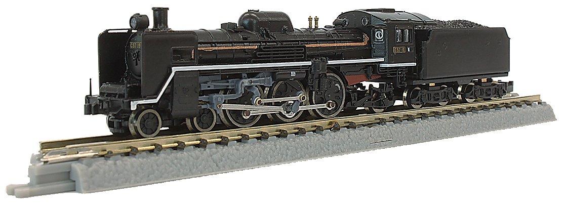 ロクハン Zゲージ T027-1 国鉄C57形 蒸気機関車 19号機 一次型標準タイプ B01N7BZ8KC
