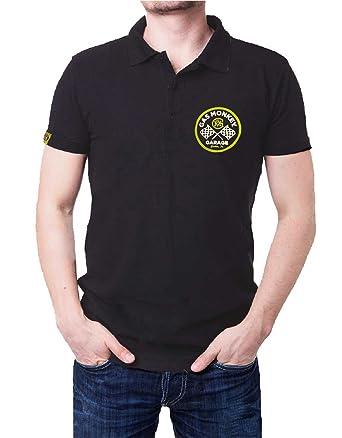 Gas Monkey Garage Camiseta de Manga Corta para Hombre, con ...