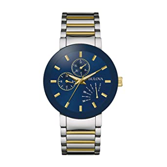 7484552eb4f1 Amazon.com  Bulova Men s Quartz Stainless Steel Dress Watch